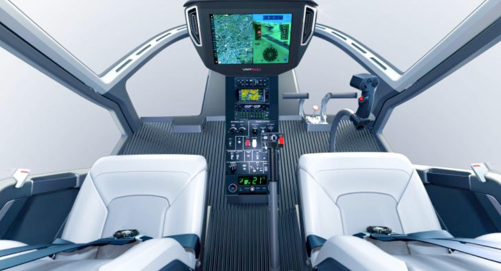 FlytX, Thales' new connected avionics suite selected by VR-Technologies for its civil helicopter