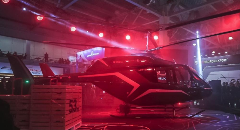 Russian Helicopters has unveiled its first light single-engined helicopter, the VRT500, in a bid to capture a slice of the international market for rotorcraft of up to 2,000kg (4,400lb).