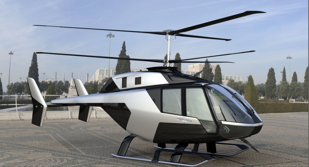 MAKS: Russian company presents VRT500 light helicopter mockup